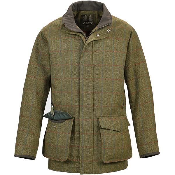 Musto Lightweight Machine Washable Tweed Gents Shooting Jacket