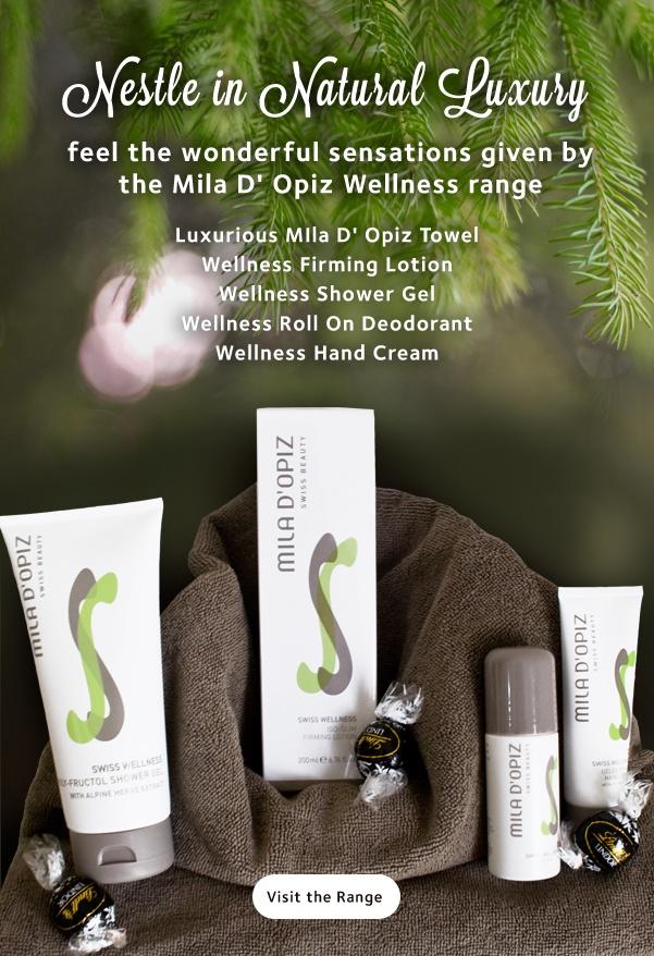 Mila d'Opiz Australia - Swiss Wellness. Active body care. Feel the wonderful sensations.
