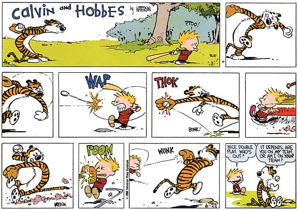 Calvin And Hobbes Dick And Jane 65