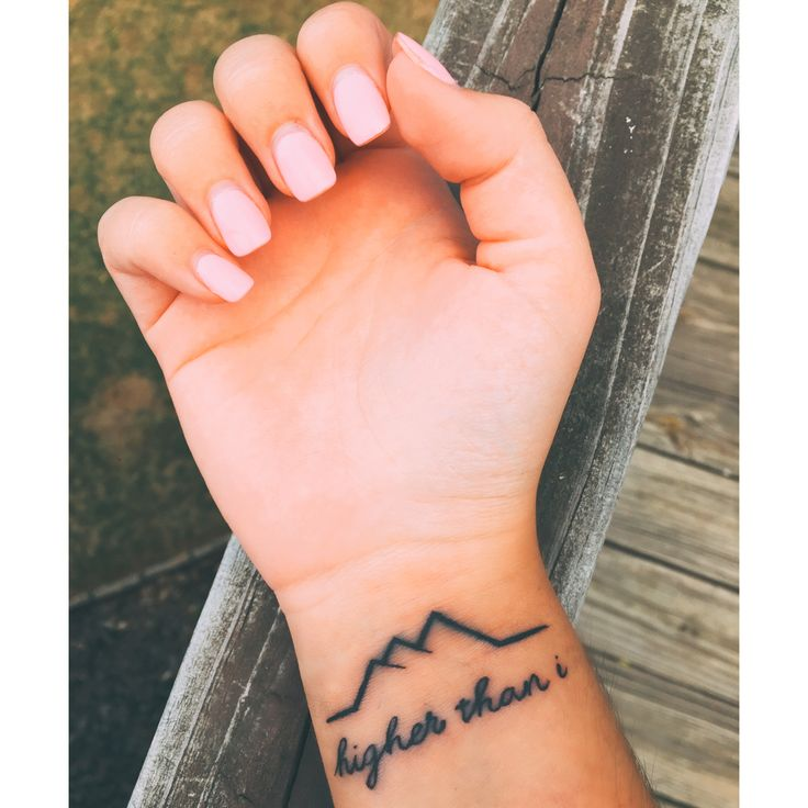 De 20 b sta id erna om faith tattoos p pinterest for Your name is tattooed on my heart