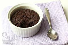 brownie incrível de microondas