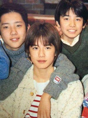 Kazunari Ninomia of Arashi, Hideaki Takizawa #Tackey , and Toma Ikuta