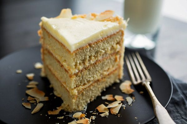 Coconut Layer Cake by nytimes #Cake #Coconut