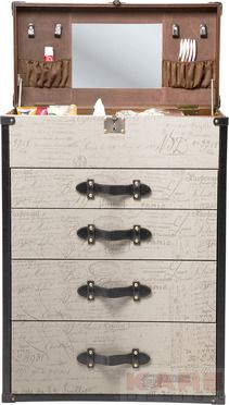 Chest of drawers Vintage Make Up 4 Drawers