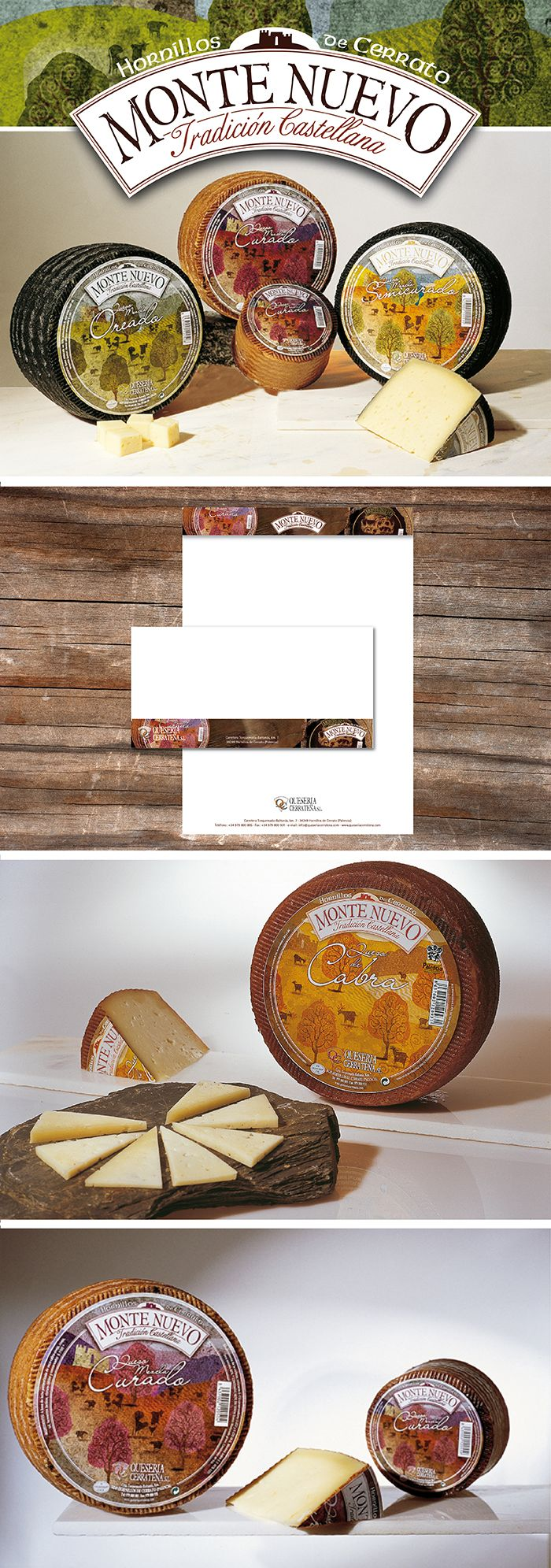 Cheese labels design.
