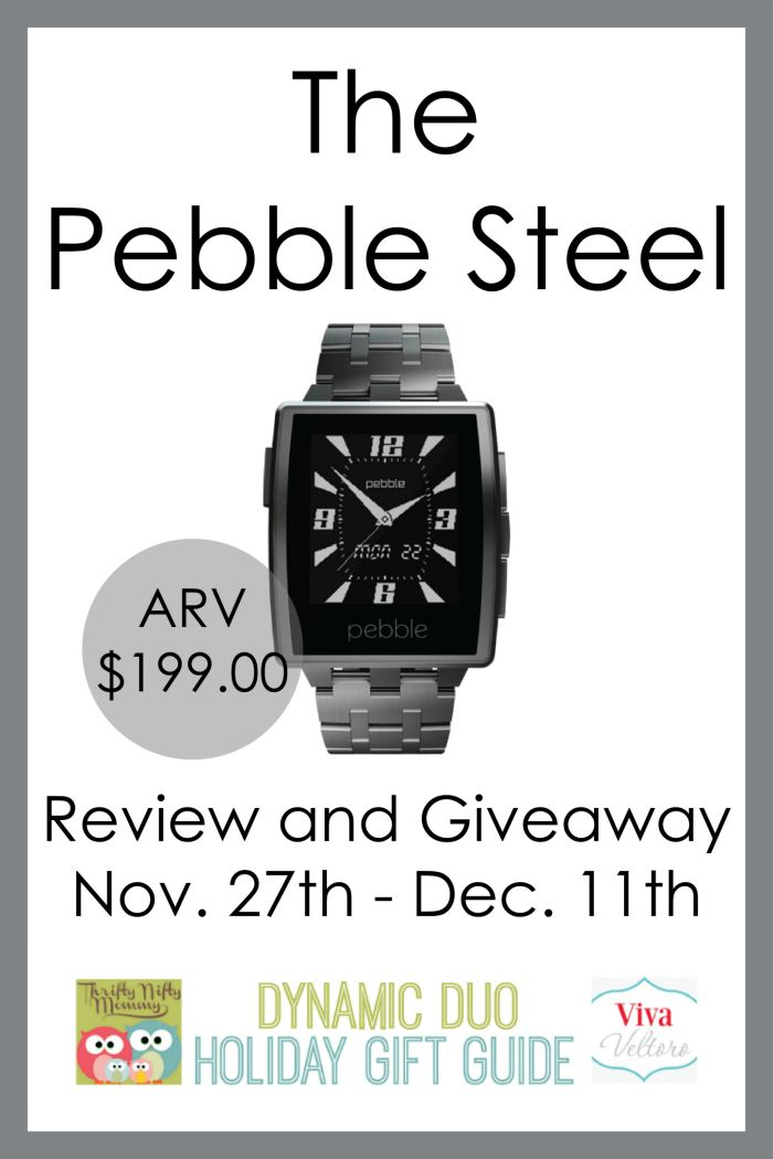 Find out more about the Pebble Steel Watch. and Win one