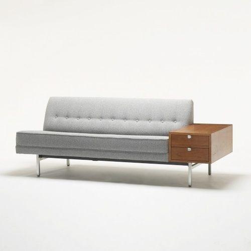 George Nelson sofa, Herman Miller, 1956.