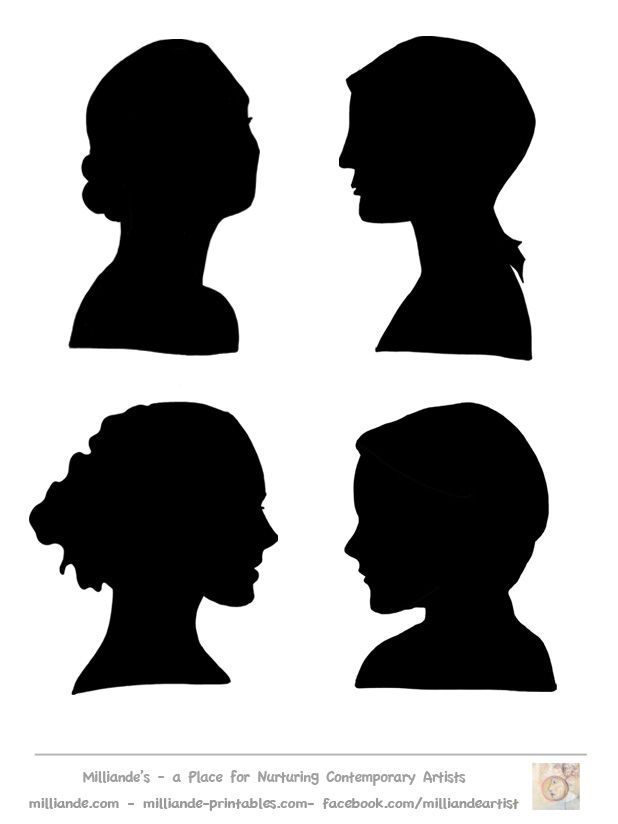 70 best CAPI Silhouettes images on Pinterest