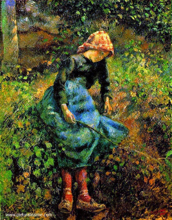 Camille Pissarro (1830-1903) One of my favorite artists.