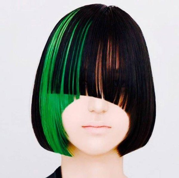 25 trending green highlights ideas on pinterest emerald green 30 hot dyed hair ideas pmusecretfo Image collections