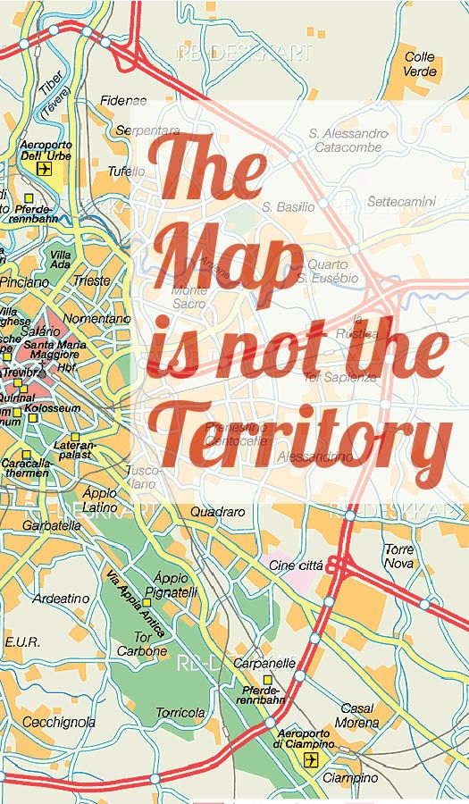 The map is not the territory - NLP