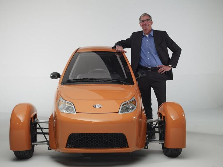 The Tiny Three-Wheel Car That Could Be The Next Big Thing by Elio Motors.