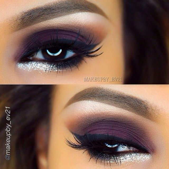 how to use silver eyeliner