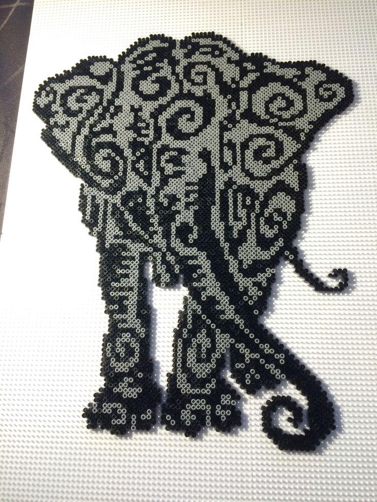 Elefant, hama mini