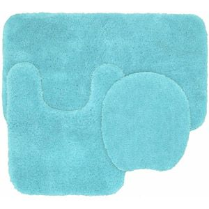Best Teen Bathroom Ideas Images On Pinterest Bath Ideas - Turquoise bath rug set for bathroom decorating ideas