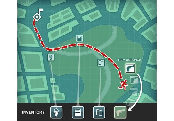 """Zombies, RUN!"" from the App store - ""Zombies, Run! is about making the thrill of running even better with a game and a story delivered through your headphones. We're making running more fun, more exciting, and more addictive for everyone from couch-to-5k newbies to weekend joggers and marathon runners. And Zombies, Run! works anywhere - in a park, along a beach, in the city, even on treadmills!"""