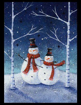 Snow people!