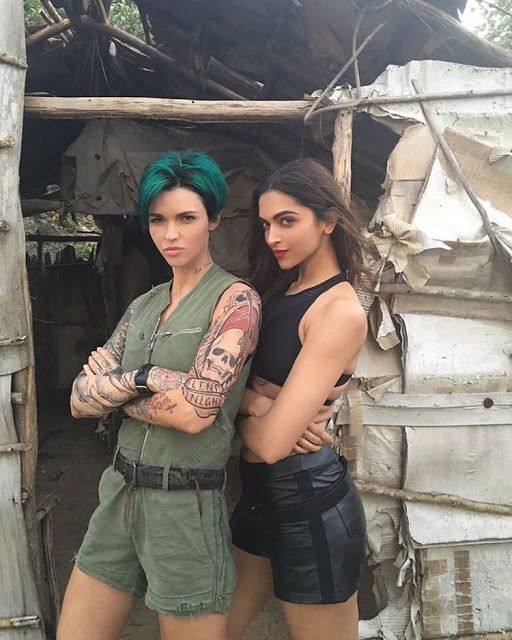 Check out the latest pic of Deepika Padukone with Ruby Rose. http://www.bollywoodnentertainment.com/2016/03/check-out-latest-pic-of-deepika.html