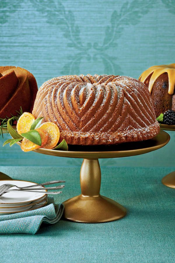 Brown Sugar-Bourbon Bundt Cake