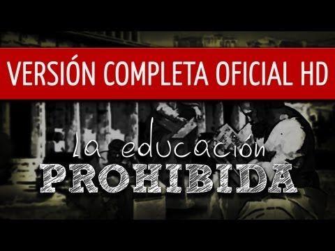 La Educación Prohibida es una película documental que se propone cuestionar las lógicas de la escolarización moderna y la forma de entender la educación, visibilizando experiencias educativas diferentes, no convencionales que plantean la necesidad de un nuevo paradigma educativo.