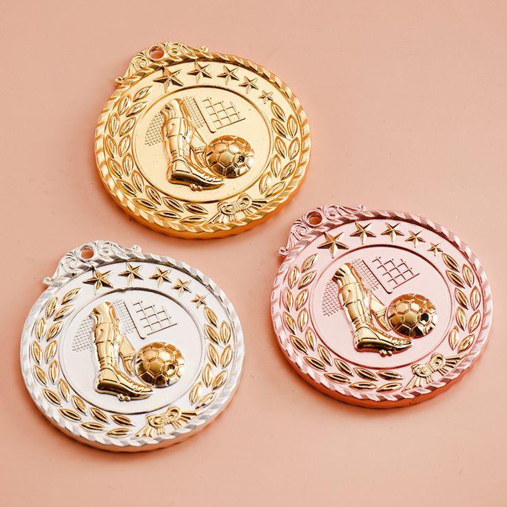 Hot!The Golden Boot Medal Football Medal Souvenir Fans Zinc Alloy Official Sport Match Adward Soccer Ball Medals Free Shipping