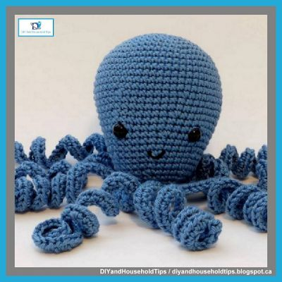 DIY And Household Tips: Crochet Octopus (FREE PATTERN)