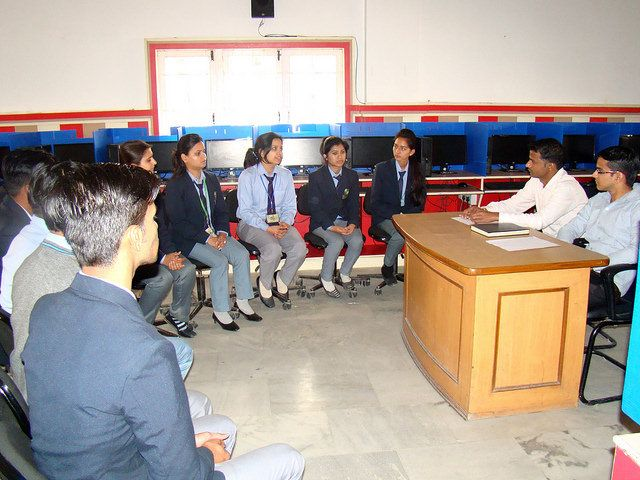 Tula's Institute Best Engineering College in Dehradun has Kapuria Technology placement drive in its campus. Group discussion at Tula's Institute