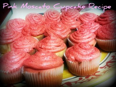 Moscato Cupcake Recipe With Cake Mix