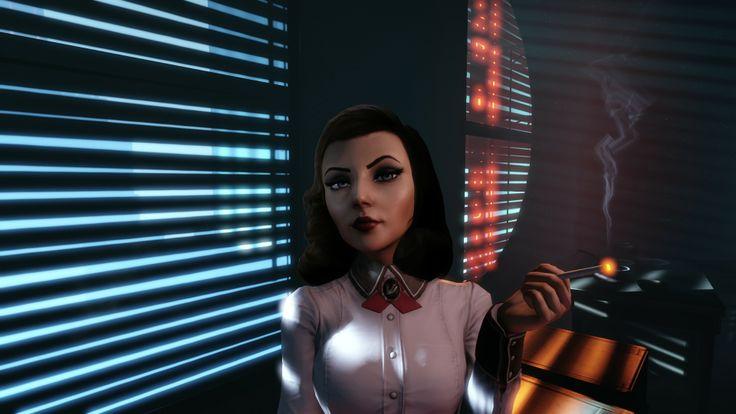 elizabeth from bioshock infinite #burialatsea