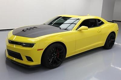 2015 CHEVY CAMARO 2SS RS 1LE 6-SPD SUNROOF NAV HUD 10K #252775 Texas Direct Auto