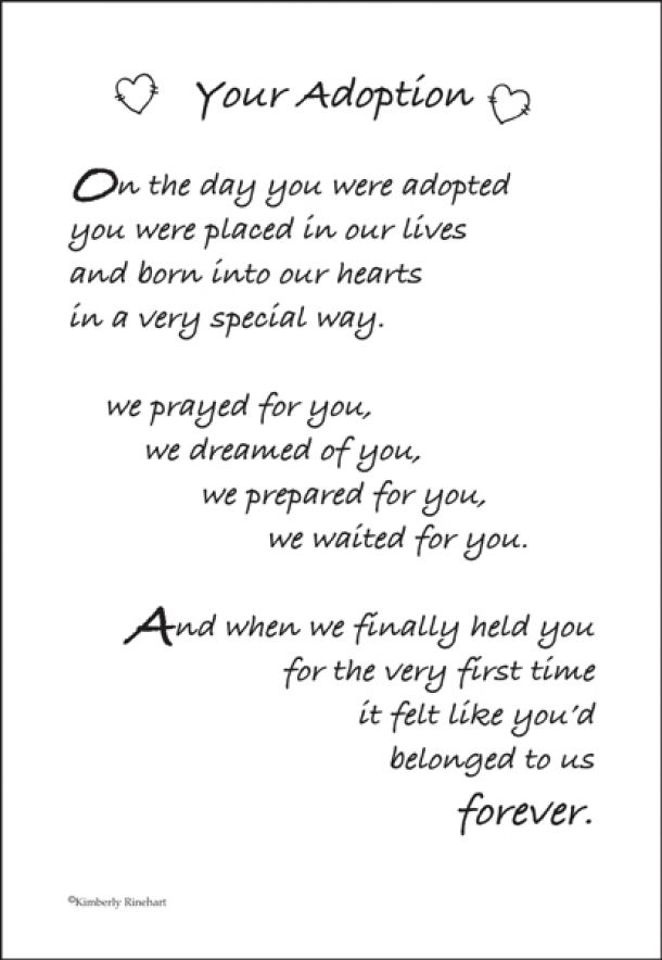 35 best Adoption Quotes images on Pinterest | Adoption quotes ...