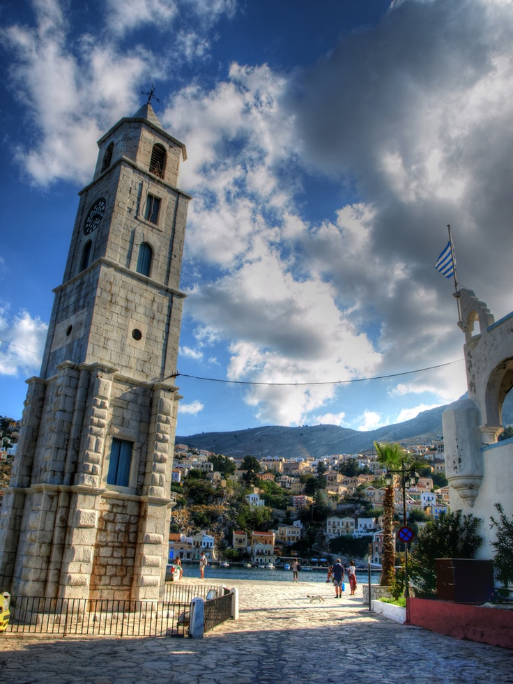 Symi Clock Tower