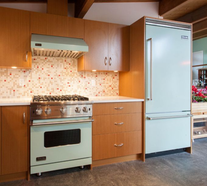 Tiny Kitchen Brands Llc: House Of Turquoise-mid-century Style Appliances That Are