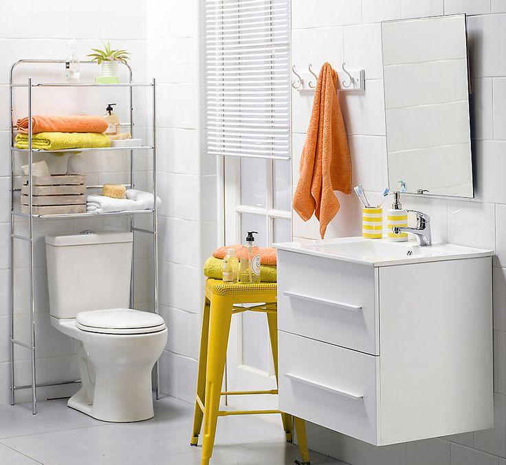 ¡Lo que más necesitamos en el baño son cajones! #Baño # ...