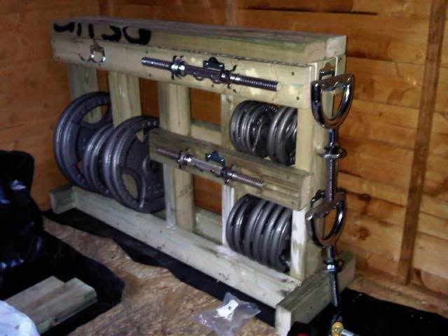 Weight Rack http://papasteves.com