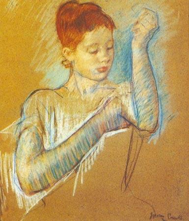 Мэри Кассат, Длинные перчатки