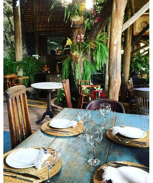 First lunch in Rio at Aprazível Restaurant in Santa Teresa #riodejaneiro #louisvuitton #LVCRUISE @aprazivel