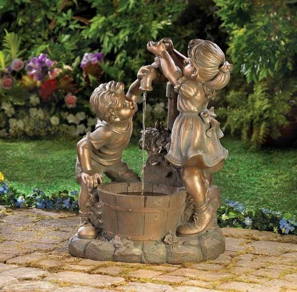 garden fountains sale solar outdoor water zen