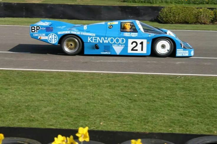 Kremer 956 1983 Le Mans Mario & Michael Andretti Philippe Alliot