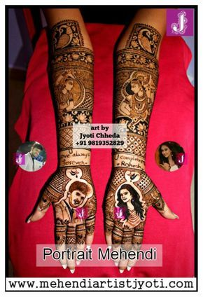Jyoti Chhedas mehndi design gallery. Mehandi Art Designs done on different occasions.