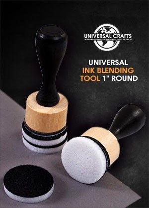 Universal Crafts - Universal Ink Applicator Tool 1 inch  Round