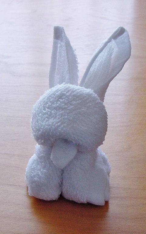 Towels Animals - Zwierzęta z ręczników - Origami z ręczników