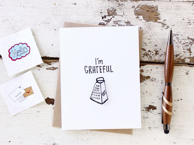 I'm Grateful - Funny Thank You Card