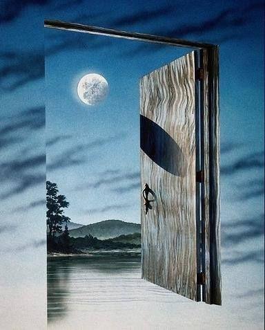 porta céu aberto