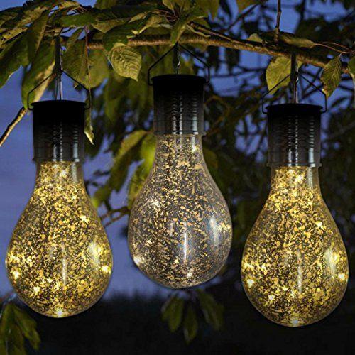 Upxiang Ampoule Avec SuspenduRotation Crochet Solaire wnkP08O