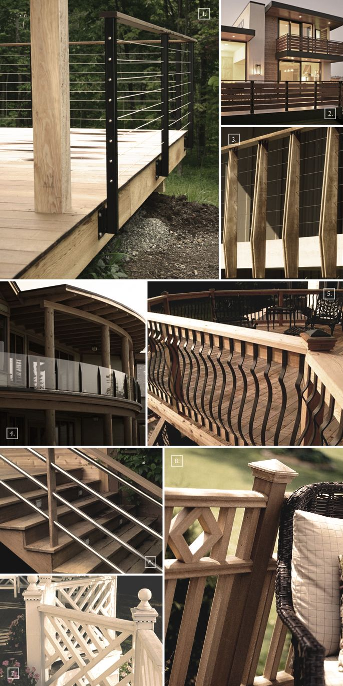 Deck Railing Ideas and Styles