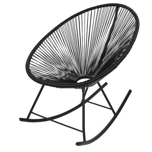 €75 Loods5 acapulco-zwart-stoel
