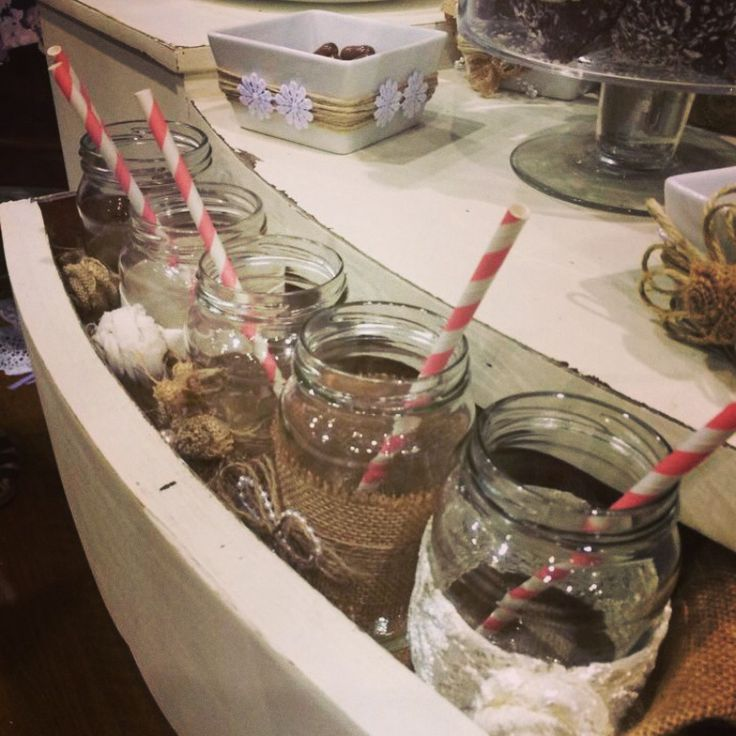 Mason jar design...for your lolly bar