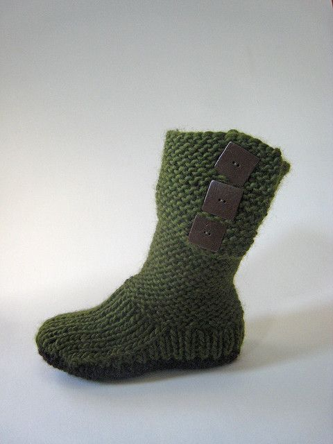 17 Best images about Knit & Crochet Socks & Slippers on Pinterest R...