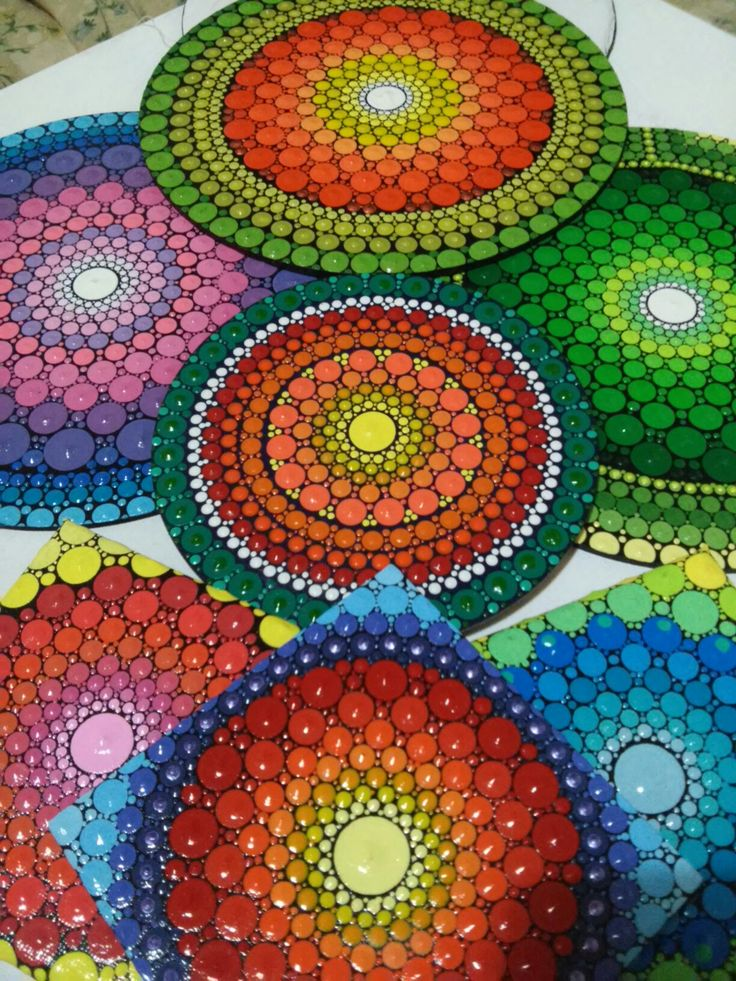 Natalia Richetti #Mandala #dot #art